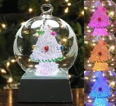 lighted ornaments decor