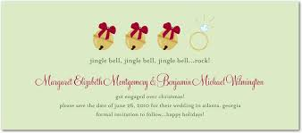 engagement announcement cards christmas card engagement announcement not a save the date
