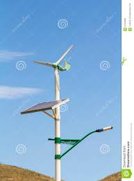 Solar Panel For Street Light by Street Lamp Post With Solar Panel And Wind Turbine China Stock