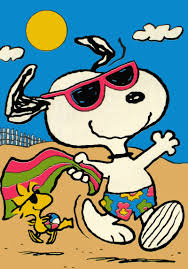 Snoopy Flags Summer Clipart Snoopy Pencil And In Color Summer Clipart Snoopy