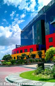 colorful campus of adobe india sector 25a city center noida