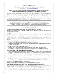 Sample Project Management Resume Resume Portfolio Manager Resume