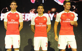 arsenal puma deal arsenal s new puma home kit for next season leaked on twitter