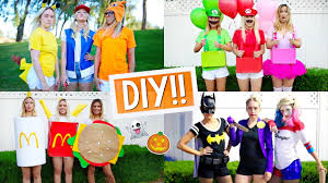 diy halloween costumes for groups alisha marie youtube