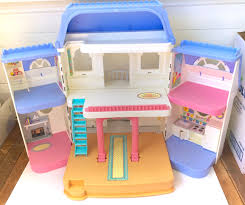 Fisher Price Doll House Furniture Rare Vintage Fisher Price Grand Dollhouse Loving Family Doll