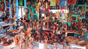 jamaican wood sculptures negril craftmarket errol flynn tours jamaica