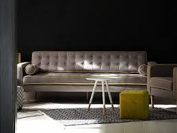 3er sofa grau design sofa beliani at