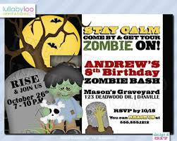 zombie apocalypse birthday party image inspiration of cake and