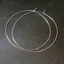 large silver hoop earrings large hoop earrings 5 inch ickynicks jewelry best gold hoop earrings