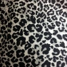 leopard fabric snow leopard cotton fabric with scotchgard stain resistance sobie