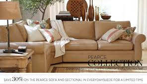 Pearce Sofa Pottery Barn by Life On The Riverboat