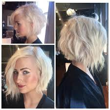 would an inverted bob haircut work for with thin hair choppy layered inverted bob haircut hår inspirasjon pinterest