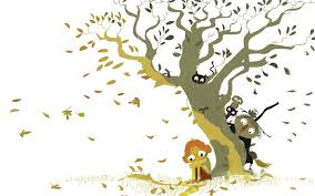 peeking by the tree by pascal cion on storybird