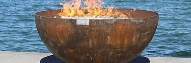 Steel Firepits Outdoor Metal Pits And Stainless Steel Water Features