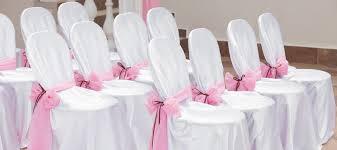 housse chaise mariage housses de chaises et noeuds de chaises pour décoration de table