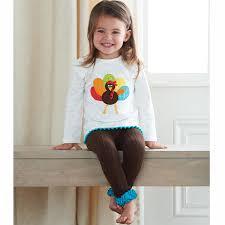 thanksgiving toddler thanksgiving turkey tunic u0026 leggings set by mud pie the littlest