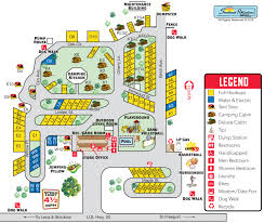 Map Of Central Illinois by Lena Illinois Campground Lena Koa