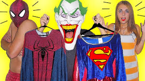 Real Life Halloween Costumes Joker Stolen Costumes Spiderman And Supergirl Shocked Funny