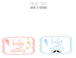 free baby shower printable tags party like a cherry