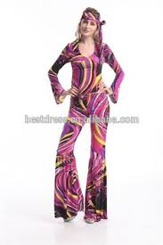 wholesale checkout ladies costume fancy dress up 60s 70s hippie go