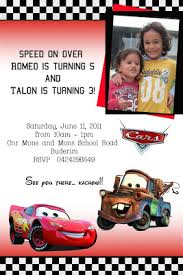 rhyme time disney cars party