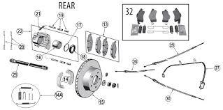 jeep grand rear brakes jeep grand wj rear brake parts 99 04 quadratec