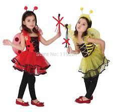 Fairy Halloween Costume Kids Cute Ladybug Fairy Halloween Costumes Kids Girls