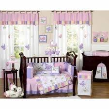 Frog Crib Bedding Jojo Pink And Purple Butterfly Crib Bedding The Frog And The