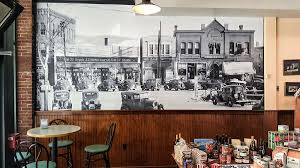 custom wallpaper custom wall murals megaprint photo wall mural photo wallpaper logo wallpaper chase street market shows plymouth nh as it once was