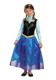 frozen family halloween costumes girls frozen traveling anna prestige costume