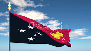 New Guinea Flag Flag Of Papua New Guinea Royalty Free Video And Stock Footage