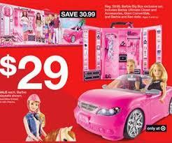 target on doorbuster or black friday barbie big box exclusive set deal at target black friday sale