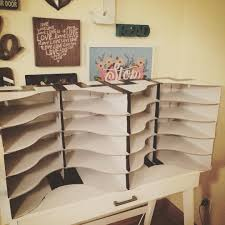 student mailboxes using ikea flyt magazine holders and it only