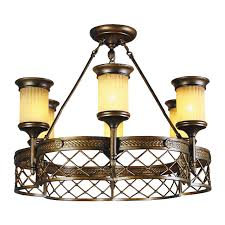 Esszimmer Lampen Rustikal Kronleuchter Chiaro 382010206