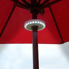 patio umbrella with solar led lights solar powered patio umbrella led lights home interior and exterior