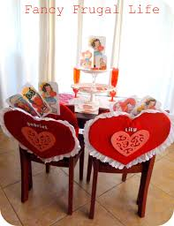 pottery barn kids inspired chair backs u0026 our valentine u0027s kid table