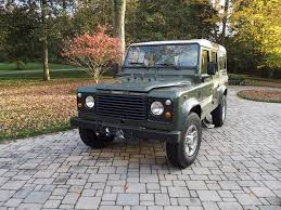 range rover defender 1990 1989 land rover defender 110 second daily classics