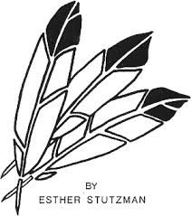 feather pattern use the printable outline for crafts creating