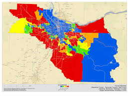 Portland County Map by Lindholm Company Blog 2010 Oregon Post Election Analysis