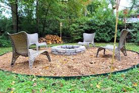 Easy Firepit Some Like A Project Easy For You Diy Pit