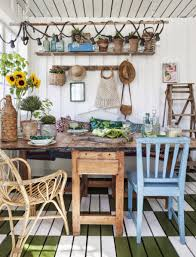 home u0026 garden bohemian atmosphere in winter garden she shed