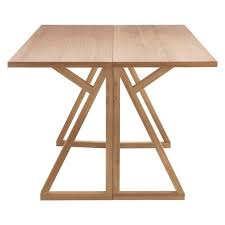 Oak Folding Dining Table Heath 2 4 Seat Oak Folding Dining Table Designed In House And