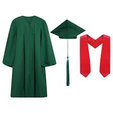 black cap and gown cap and gown packages high middle school