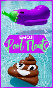 Amazon Pool Floats Emoji Pool Floats Will Help You Properly Express Yourself This Summer