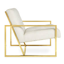 Lounge Chairs Goldfinger Lounge Chair Modern Furniture Jonathan Adler