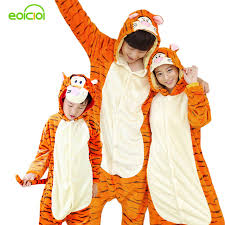 Mother Daughter Matching Halloween Costumes Aliexpress Buy Family Matching Pajamas Onesie Women Pajamas