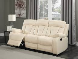 Motion Leather Sofa 645 Motion Sofa In Beige Bonded Leather W Optional Items