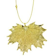 real leaf necklace images Real leaf jewelry zhannel jpg