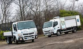 mitsubishi truck canter greencroft gets 26 canters in 18 months from bell truck and van