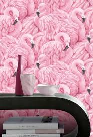 wallpaper with pink flamingos pink flamingo wallpaper rasch wallpaper decorating centre online